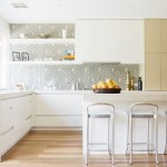 doherty lynch kitchen wallpaper backsplash covered in glass cococozy