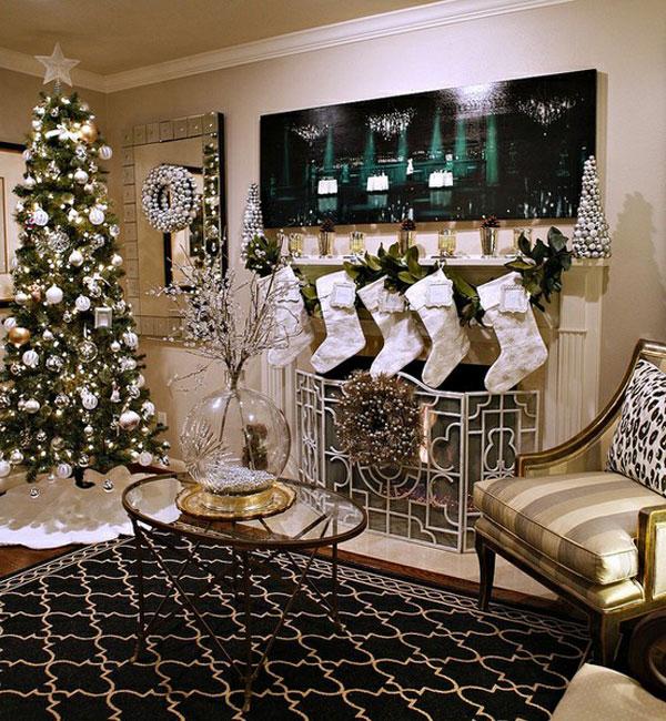 Оформление новогоднего интерьера своими руками - фото и советы - эксклюзивно на Our-Interior.com