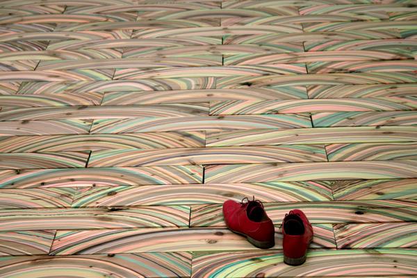 Šareni Podni i Zidni uzorci od dizajnera  Pernille Hansen Snedker