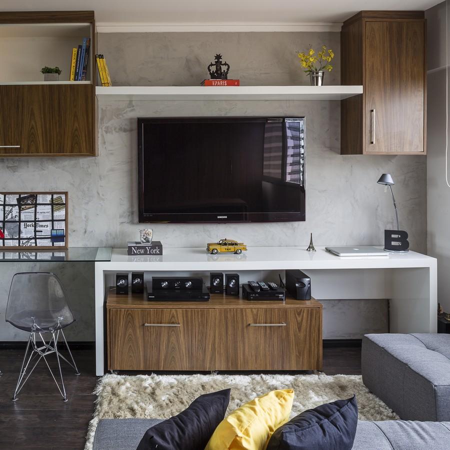 Pametno rešenje višenamskog jednosobnog stana od 30 kvardatnih metara